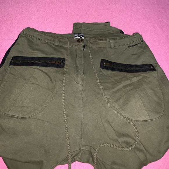 Amazing army green NappyTabs Sweatpants